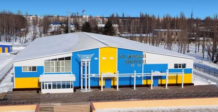 «Ледовый дворец» в городе Лиски