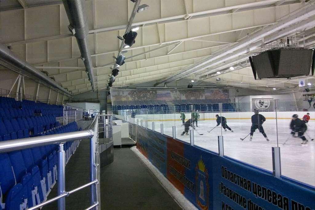 Ледовая арена в Тамбове