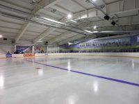 Дворец спорта в рабочем поселке Новоспасское
