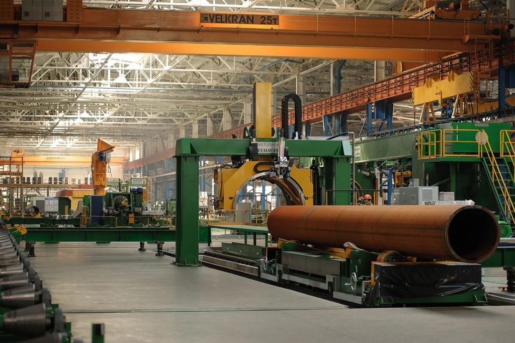 Открытие цеха труб большого диаметра ЗАО «Лискимонтажконструкция»